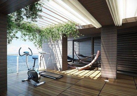 die besten 25 fitnessstudio zu hause ideen auf pinterest. Black Bedroom Furniture Sets. Home Design Ideas
