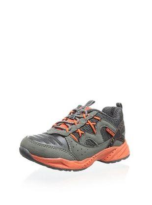 56% OFF Carter's Kid's Sampa Athletic Sneaker (Grey/Orange)