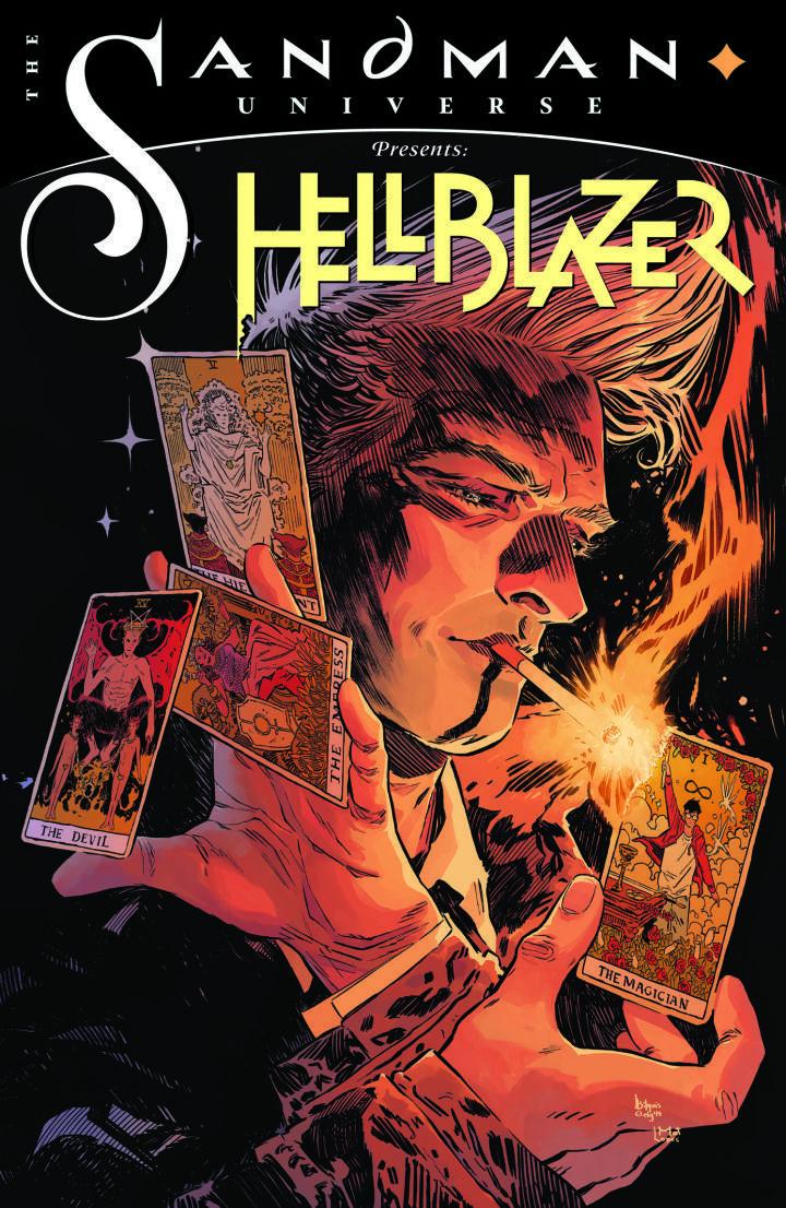 John Constantine Joins Neil Gaiman S Sandman Universe With New Hellblazer Comic Ign Hellblazer Comic Constantine Hellblazer Constantine Comic