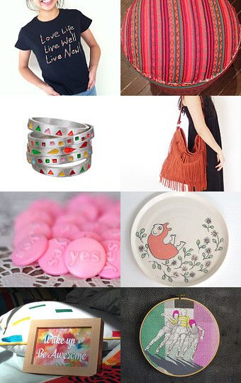 Celebrate LIFE... in colour!!! by Fiona Langtry on Etsy--Pinned with TreasuryPin.com