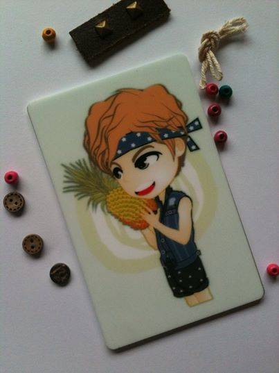 Exclusive CARD | acrylic DongWOO ver. | ready to SALE (ORDER NOW) | @ 17K IDR (per item) (convr: 2 USD) | created by