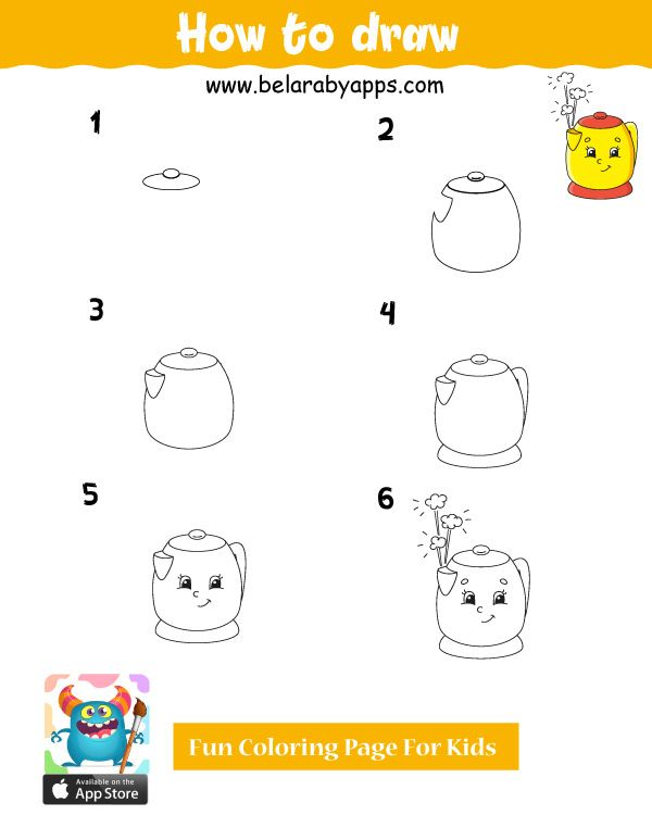 Easy Things To Draw Step By Step Cute Drawings Belarabyapps Easy Drawings Cute Drawings Art Drawings For Kids