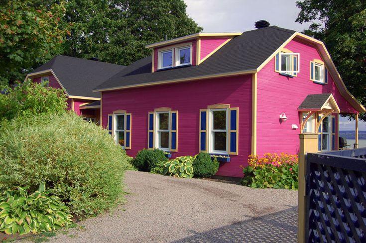 La maison rose - Ile d Orleans, Quebec Pink house