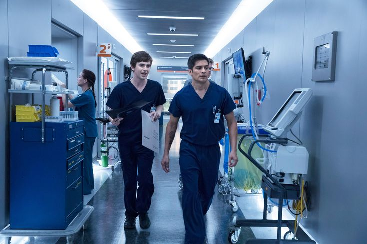 Freddie Highmore as Dr. Shaun Murphy in The Good Doctor on ABC #Television