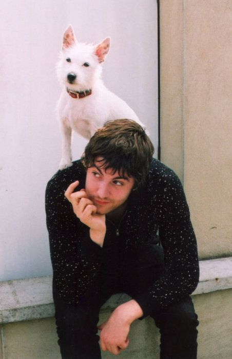 Jim and his cute dog.