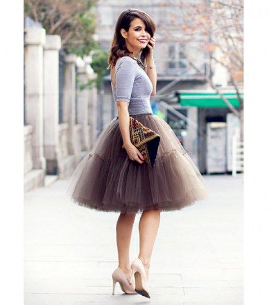 Cheap Best Seller Cheap Sale High Quality Cupro Skirt - LEDA XVII by VIDA VIDA Quality From China Cheap Cheap Browse yIY0Mmz