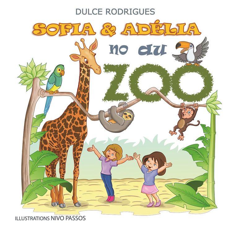 """Sofia et Adélia sont allées au Zoo. Viens découvrir avec elles le lion qui rugit et porte une grande crinière, la girafe au très long cou et beaucoup d'autres animaux de ce jardin enchanté qu'est le Zoo. Avec ce livre merveilleusement illustré, les enfants apprennent sur les animaux du jardin zoologique, ce qu'ils font et quelle est la """"voix"""" de chacun d'eux. Images par l'illustrateur brésilien Nivo Passos."""