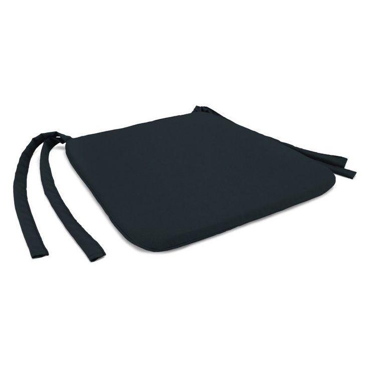 Jordan Manufacturing 19 x 17 in. Solid Indoor Seat Pad Haskett Teal - HN9597PK1-I1702