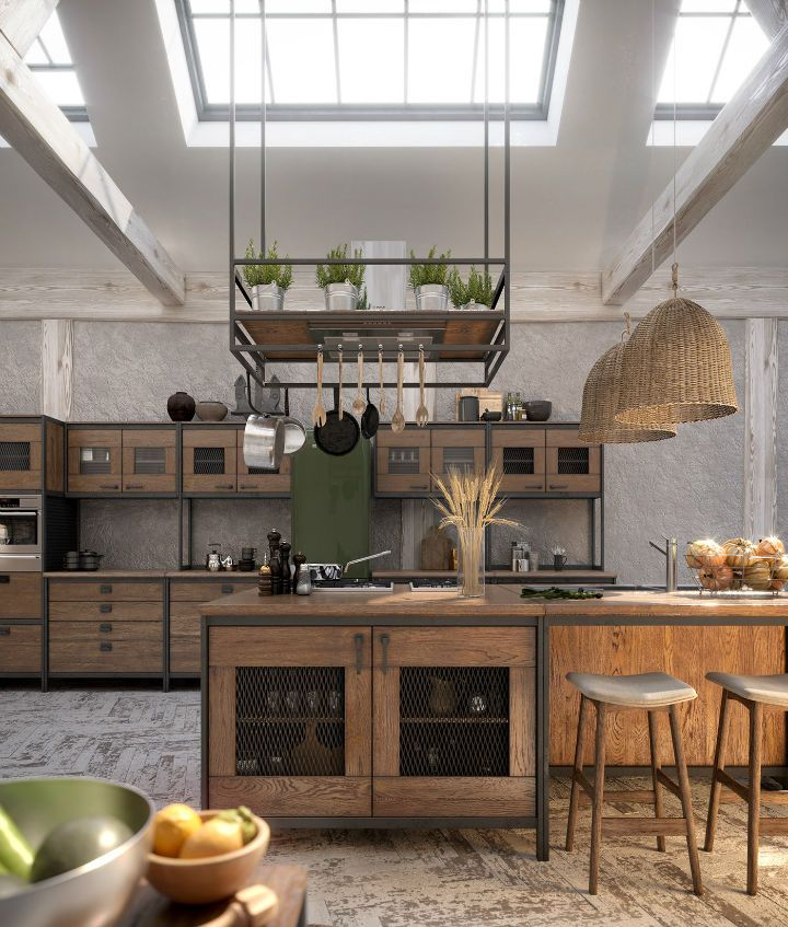 Amazing Loft Kitchen Designs That Will Blow Your Mind Decoholic In 2020 Loft Kitchen Kitchen Design Industrial Kitchen Design