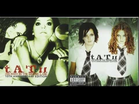 Tatu 2ookm H In The Wrong Lane 10th Anniversary Edition