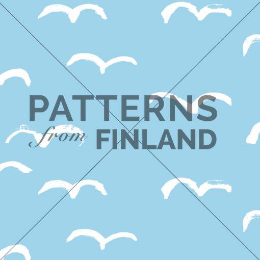 Lokki by Hanna Ruusulampi  #patternsfromfinland #hannaruusulampi #patterns #finnishdesign