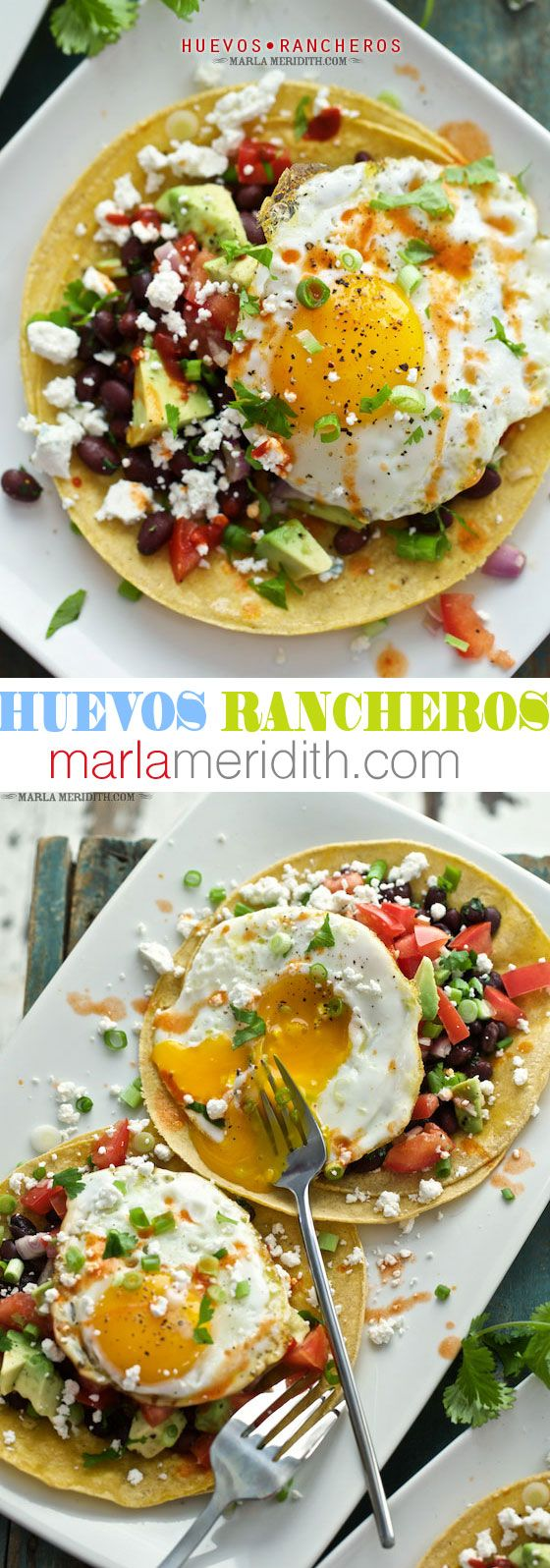 Huevos Rancheros | Egg lovers favorite breakfast! MarlaMeridith.com
