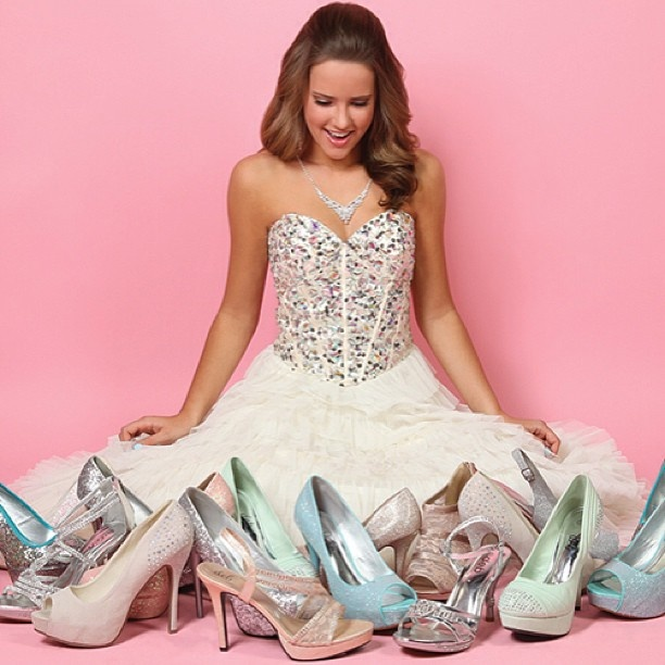 More shoes? Yes, please!  A girl can NEVER have enough of Shoes from Deb