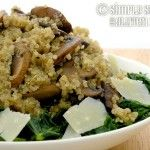 Recipe for Gluten Free, Sugar Free Kale, Mushroom, and Quinoa Salad Recipe