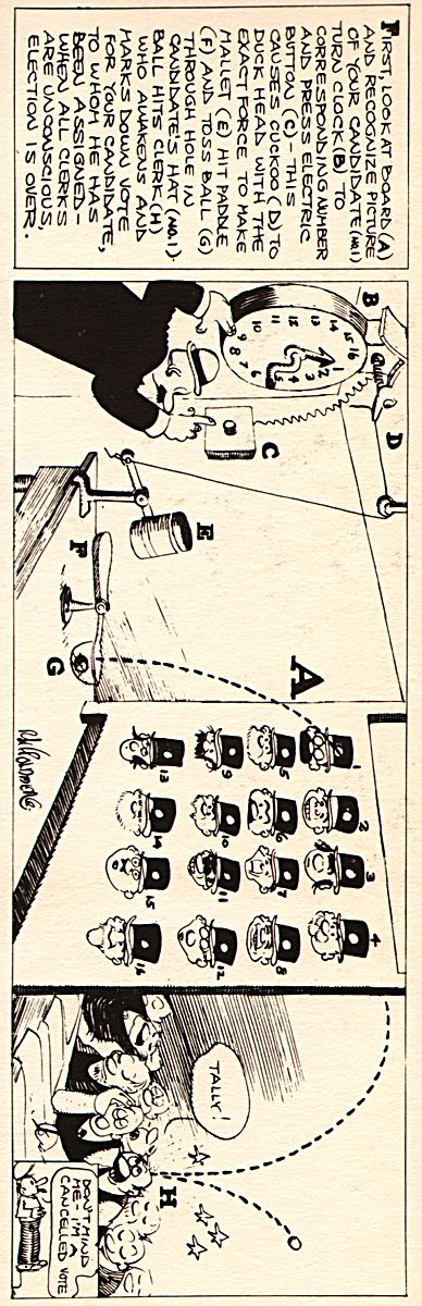 how to draw a rube goldberg