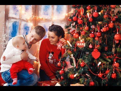 Новогодняя фотосессия семейная. Идеи для фото