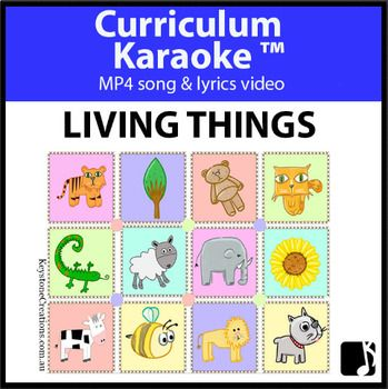 Students read, sing & learn along as the curriculum-aligned MP4 song & lyrics video plays, and lyrics display on your classroom whiteboard or other technological device! 'Living Things' (Grade K-3) is a curriculum-aligned song that highlights a variety of living things, including their different coverings, sounds, means of protection, life cycles... *DETAILS & DOWNLOADABLE: https://www.teacherspayteachers.com/Product/LIVING-THINGS-Curriculum-Karaoke-MP4-Song-Lyrics-for-Whiteboard-3489423
