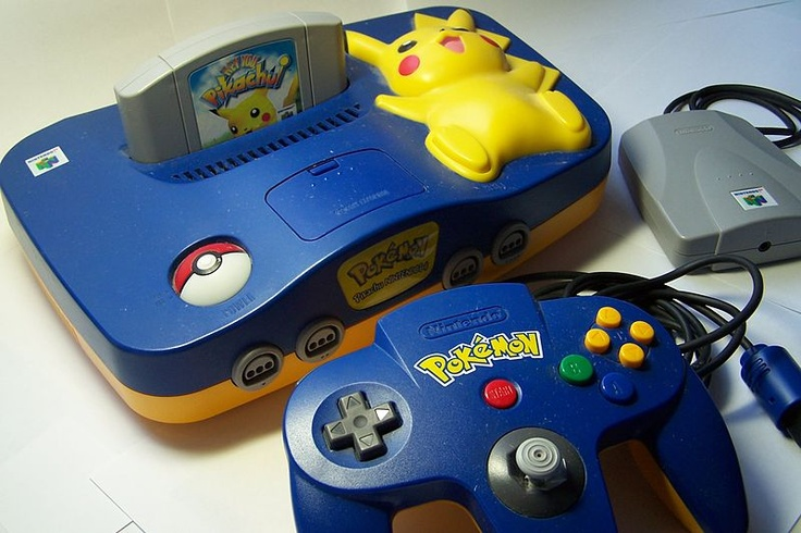 The 'Hey You, Pikachu!' special edition Nintendo 64 console