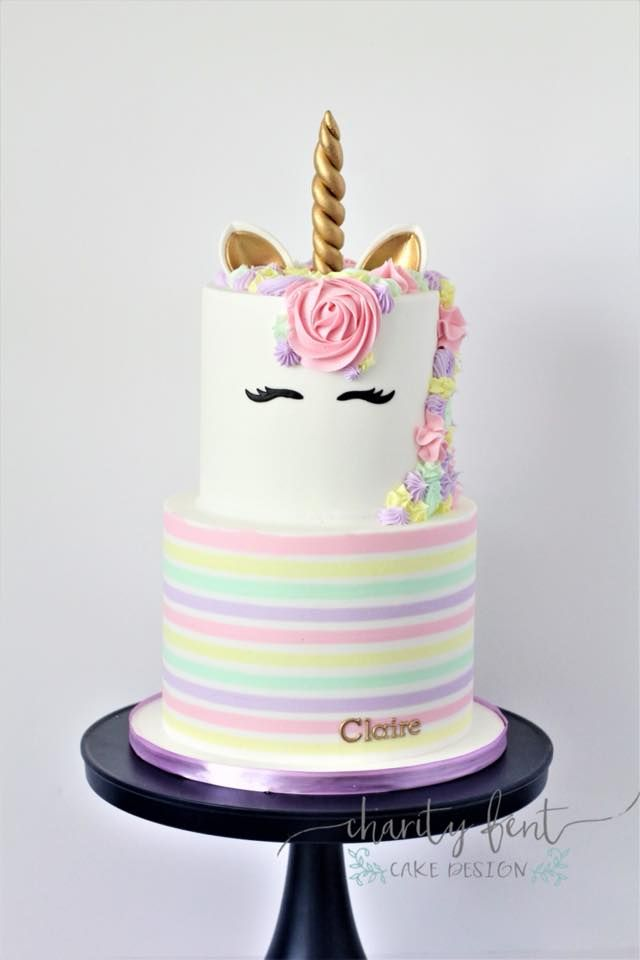 Unicorn Birthday Cake Custom Cakes Baby 1st Flavors