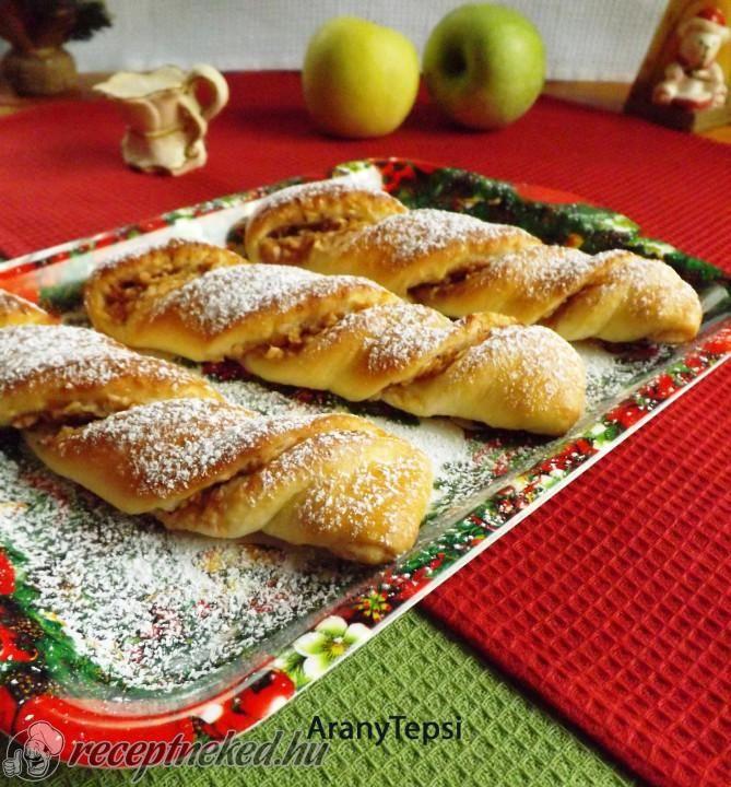 Almás csavar recept | Receptneked.hu ( Korábban olcso-receptek.hu)
