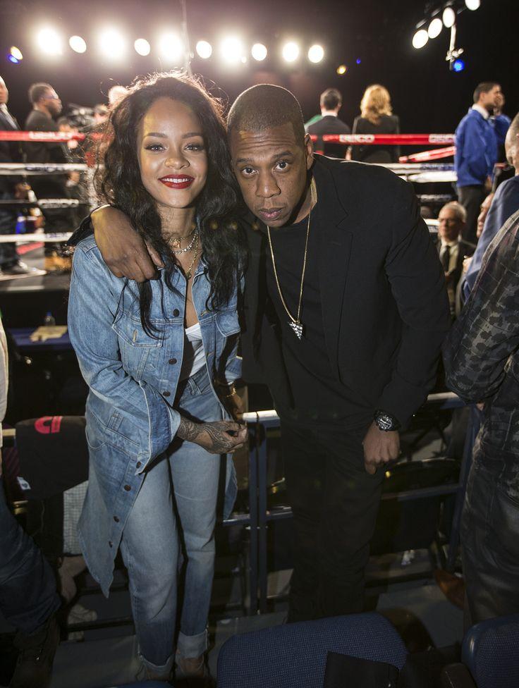Rihanna & Jay