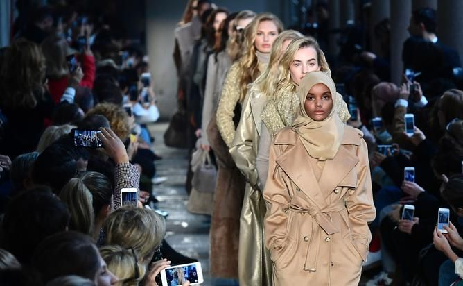 Muslim model Halima Aden, 19, who made history for wearing a hijab and burkini to the Miss Minnesota USA pageant, is now making waves at Milan Fashion Week. The model,...