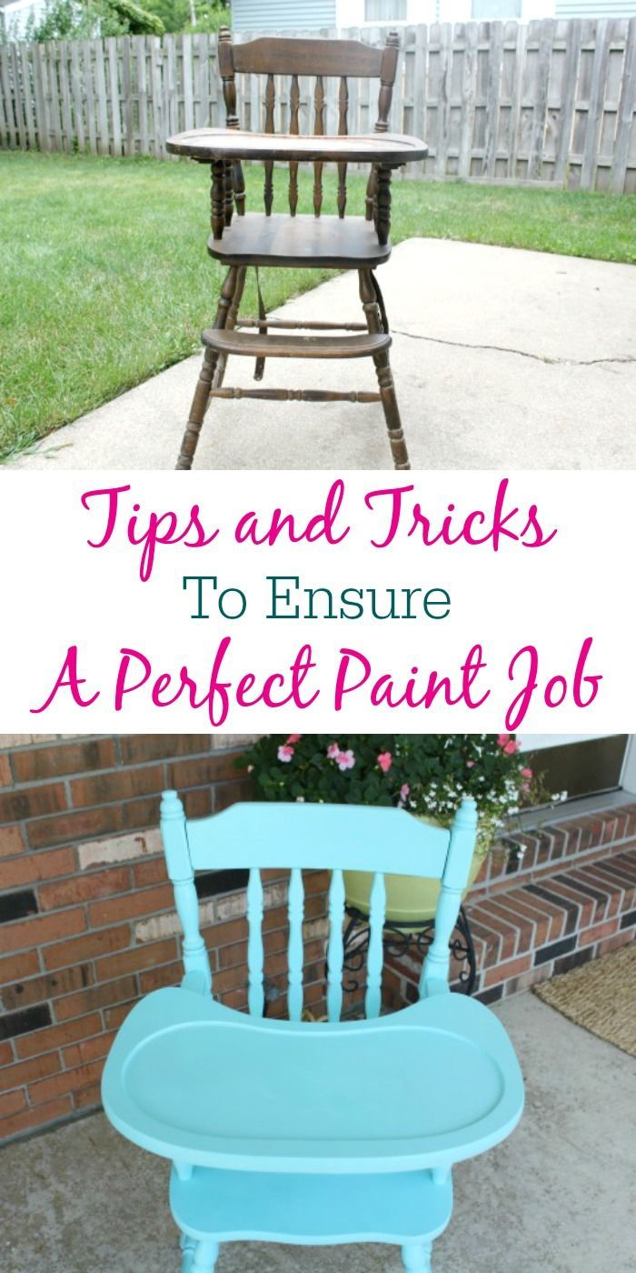 The BEST Tips and Tricks to Ensure A Perfect Paint Job!