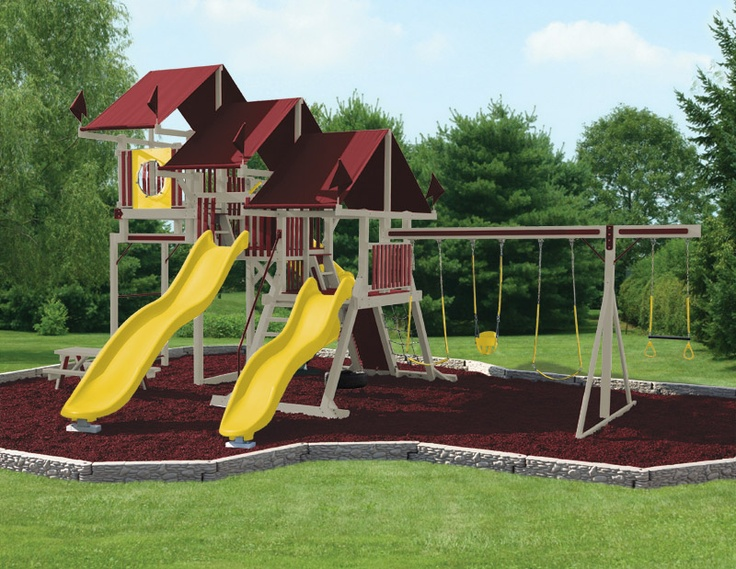 1000 Images About Swing Set Ideas For Mavericks First
