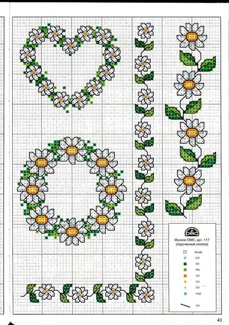 313 best Sticken/Kreuzstich images on Pinterest | Embroidery ...