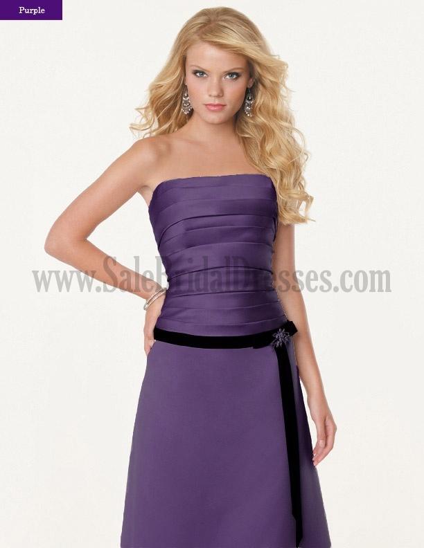 92 best Purple Bridesmaid Dresses images on Pinterest | Wedding ...