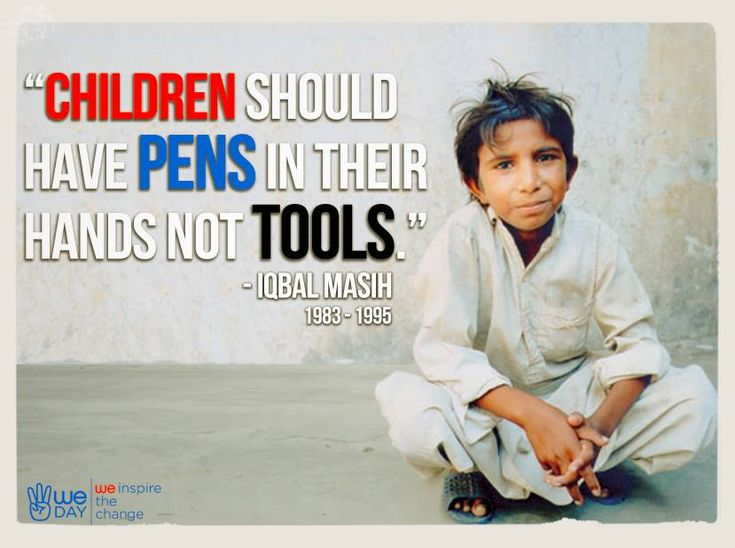 Quote For Child Labor: Demi Merubah Dunia, Anak Ini Harus Mati Muda!