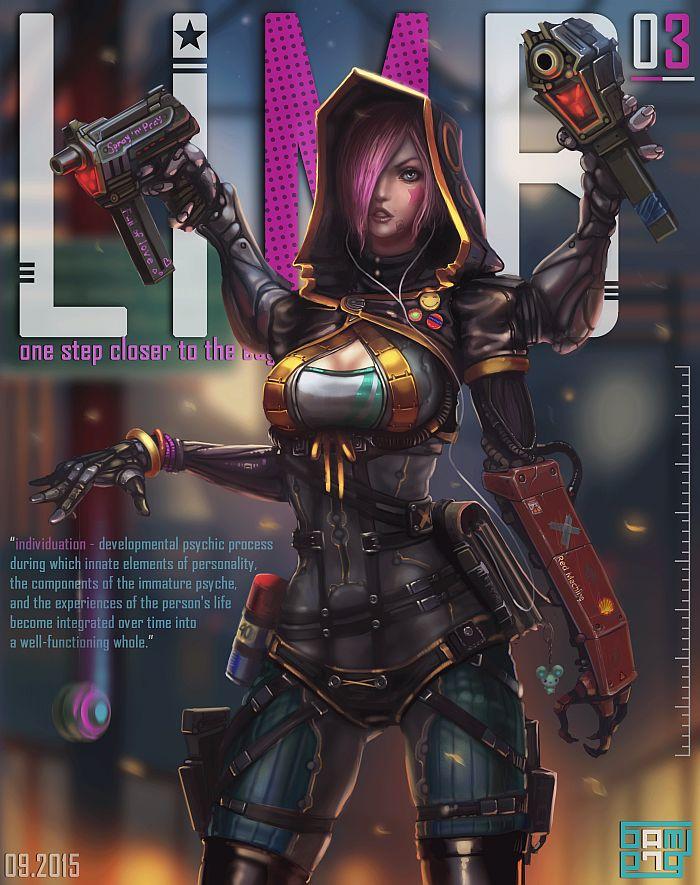 Best 25+ Cyborg fighter ideas on Pinterest : Cyberpunk ...