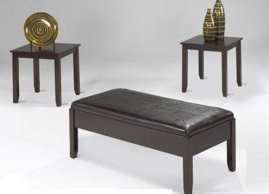 Decorative coffe table set