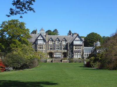 In which I visit Bodnant Garden: A Walk on the Not So Wild Side