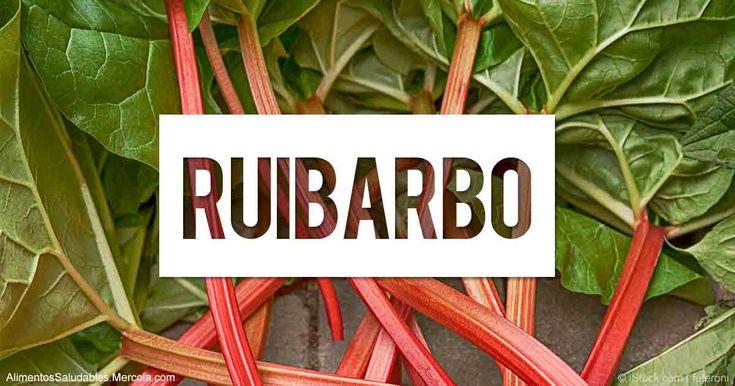 Aprenda más sobre el valor nutricional del ruibarbo, beneficios para la salud, recetas saludables, y otros datos curiosos para enriquecer su alimentación.