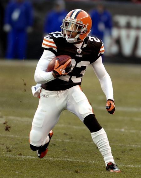 Joe Haden # 23 Cleveland Browns CB College:Florida