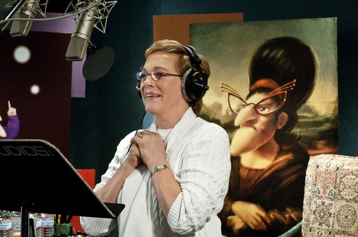 *JULIE ANDREWS (voices GRU's MOTHER) ~ DESPICABLE ME, 2010