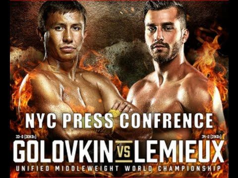 Gennady Golovkin vs David Lemieux Press Conference