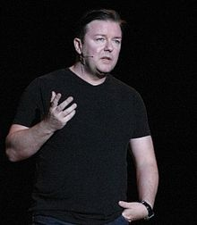 Ricky Gervais (not because he's an atheist, but because he's funny)