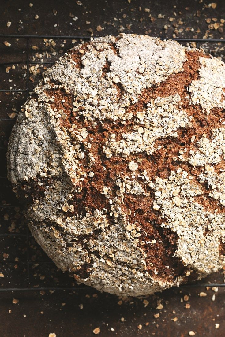 A fantastic sourdough bread recipe by Jane Mason, this Pure rye loaf a hearty and full of flavour. A fantastic beginner loaf for those looking to experiment with sourdough baking.