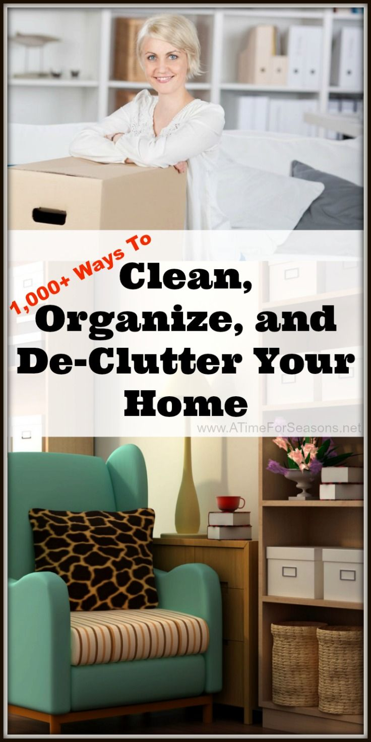 Over 1 000 Ways To Clean Organize And De Clutter Your
