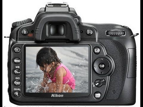 How to use a Nikon D90 - YouTube