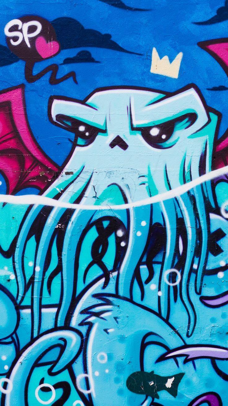 Octopus Graffiti Wallpapers 2019 Graffiti Wallpaper Graffiti