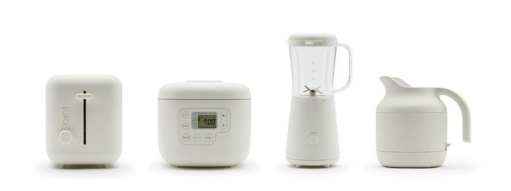 Muji presents 7 kitchen appliances by Naoto Fukasawa.