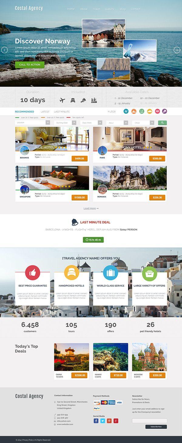 Travel Agency #webdesign