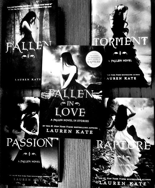 Fallen saga... Just started these and so far so good
