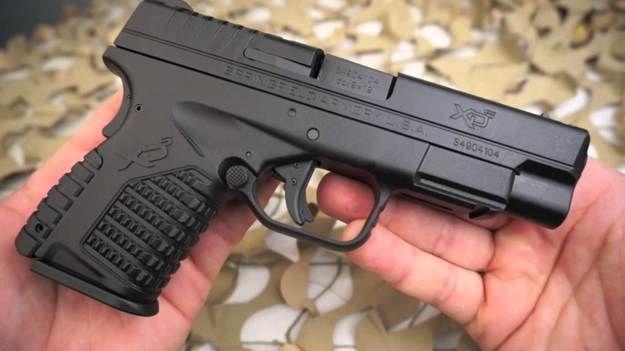 The Springfield XDS 4.0 | Best 9mm Handguns For Women | https://guncarrier.com/9mm-handguns-for-women/