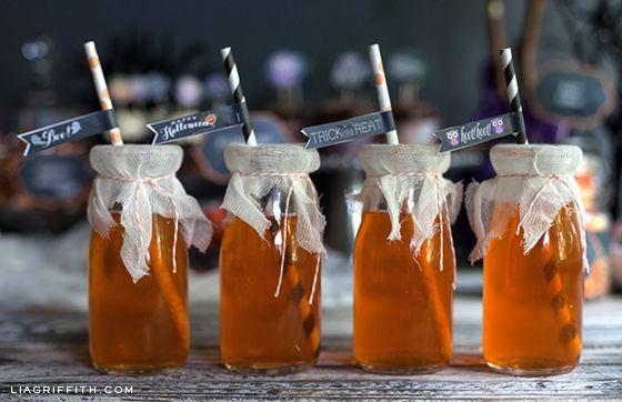 Printable Halloween Food or Candy Tags