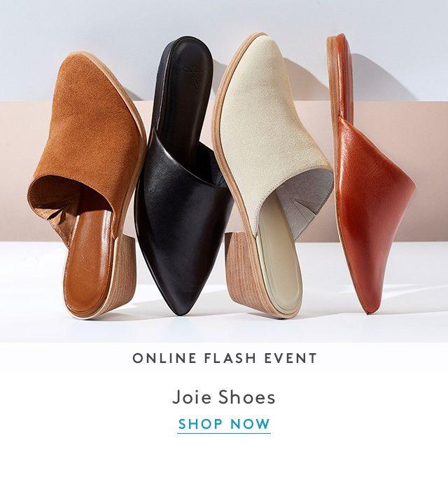 Online Flash Event | Joie Shoes | Shop Now