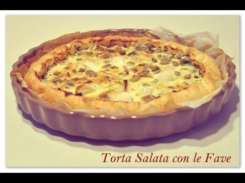 Torta Salata con le fave in compagnia dei #Rabbids. #youtube #tortasalata #cake #fave #Pasqua #videoricetta #video